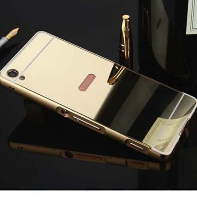 قاب آینهای دور فلزی موبایل سونی XA1 Ultra