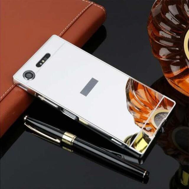 قاب آینهای دور فلزی موبایل سونی X Compact