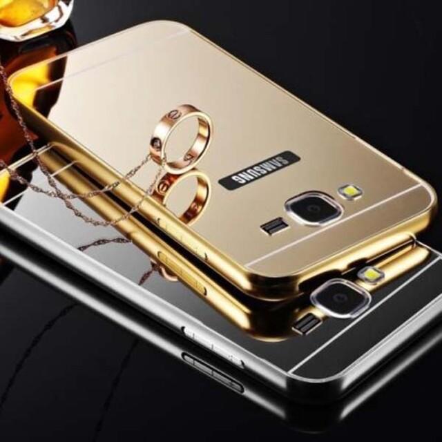 قاب آینهای دور فلزی موبایل سامسونگ A8 2015