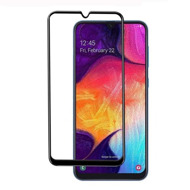 محافظ صفحه نمایش شیشه ای ۴۱۴ موبایل سامسونگ A50/A50s