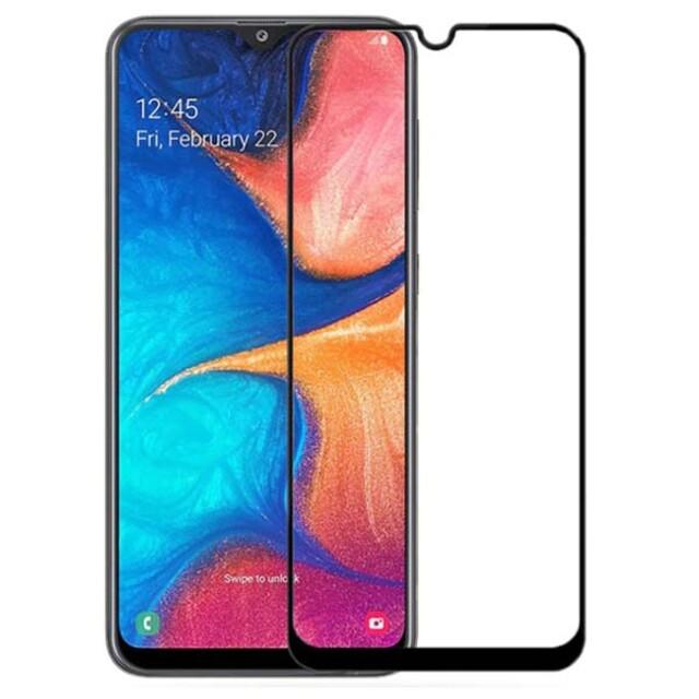 محافظ صفحه نمایش شیشه ای ۴۱۴ موبایل سامسونگ A20