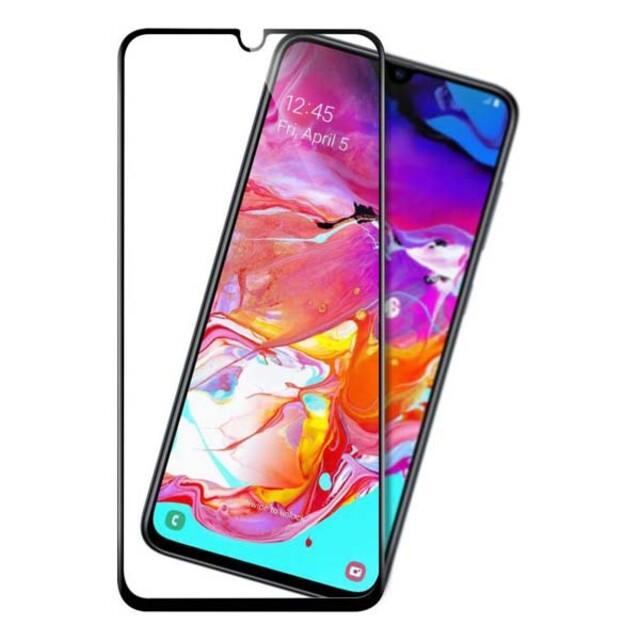 محافظ صفحه نمایش شیشه ای ۴۱۴ موبایل سامسونگ A70/A70s