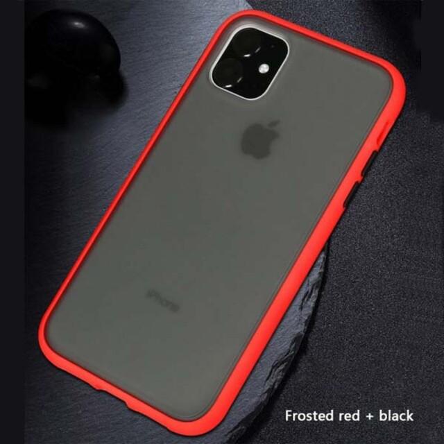 قاب پلاتینا دور رنگی مات iPhone 11 Pro Max