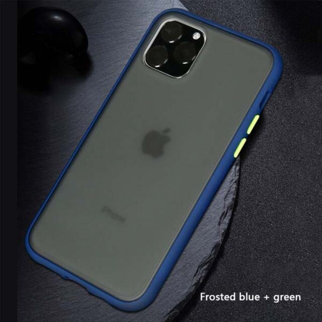 قاب پلاتینا دور رنگی مات iPhone 11 Pro