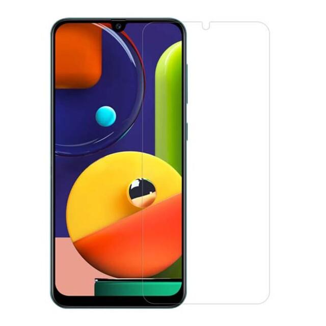 محافظ صفحه نمایش شیشهای 414 گوشی موبایل سامسونگ A50s