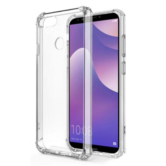 قاب کاسن مدل ژلهای شفاف مناسب برای گوشی موبایل هوآوی Y7 2018