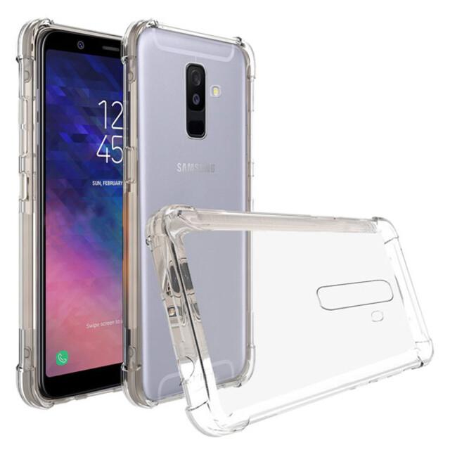 قاب کاسن مدل ژلهای شفاف مناسب برای گوشی موبایل سامسونگ A6 پلاس