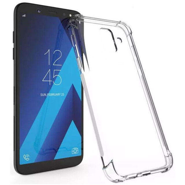 قاب کاسن مدل ژلهای شفاف مناسب برای گوشی موبایل سامسونگ A6
