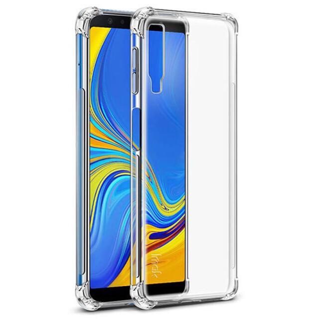 قاب کاسن مدل ژلهای شفاف مناسب برای گوشی موبایل سامسونگ A7
