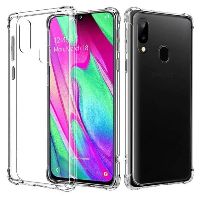 قاب کاسن مدل ژلهای شفاف مناسب برای گوشی موبایل سامسونگ A40