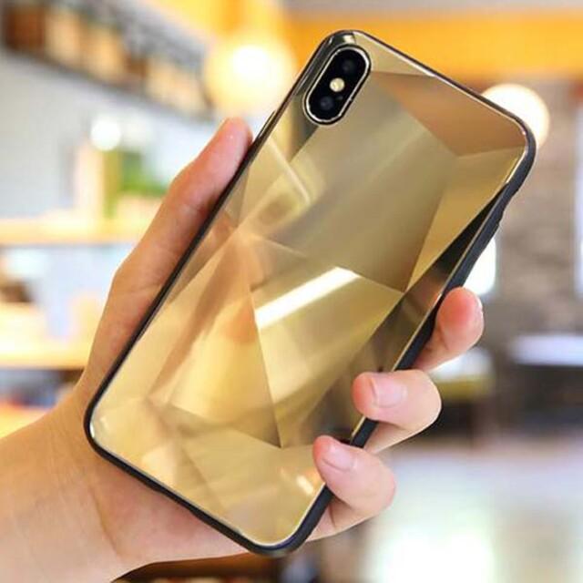 قاب الماسی پشت گلس موبایل آیفون X