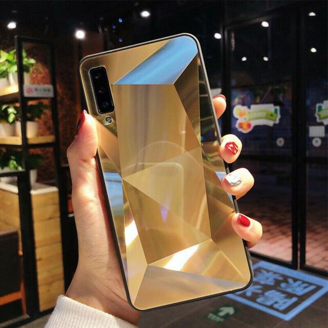 قاب الماسی پشت گلس موبایل سامسونگ M20