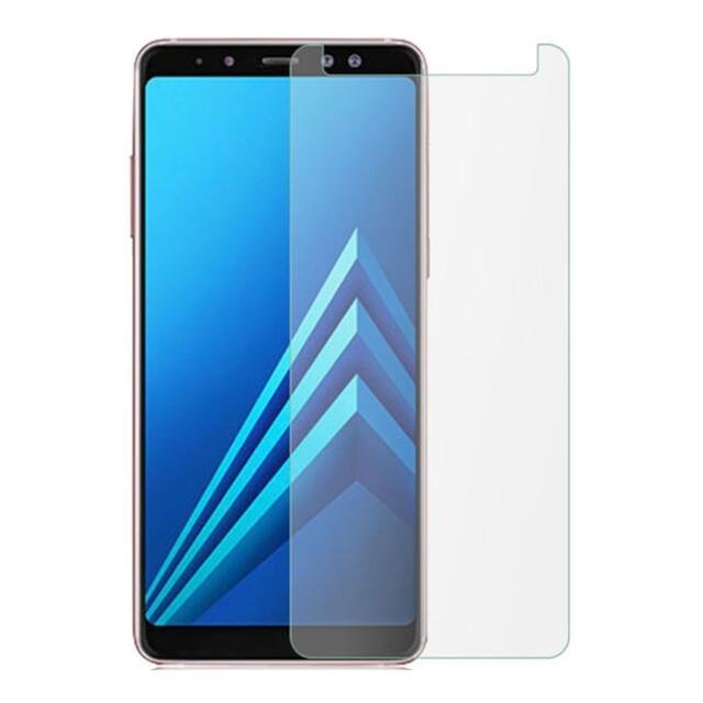 محافظ صفحه نمایش شیشهای 414 گوشی موبایل سامسونگ A8 پلاس