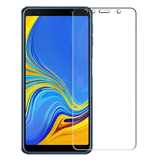محافظ صفحه نمایش شیشهای 414 گوشی موبایل سامسونگ A7 2018
