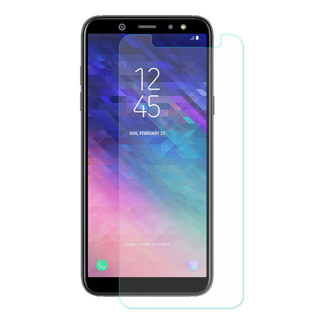 محافظ صفحه نمایش شیشهای 414 گوشی موبایل سامسونگ A6 پلاس