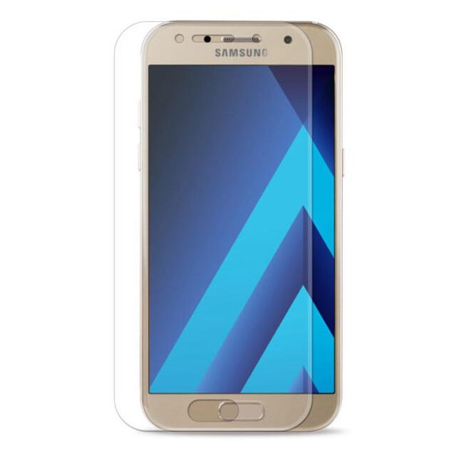 محافظ صفحه نمایش شیشهای 414 گوشی موبایل سامسونگ A3 2017