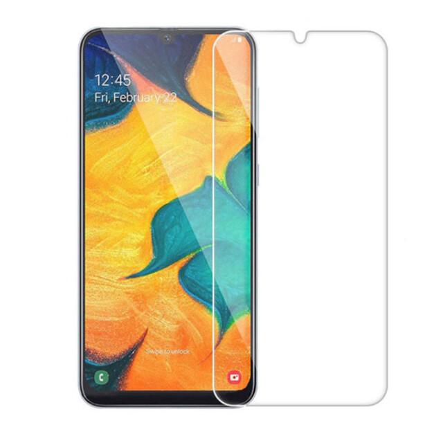 محافظ صفحه نمایش شیشهای 414 گوشی موبایل سامسونگ A30