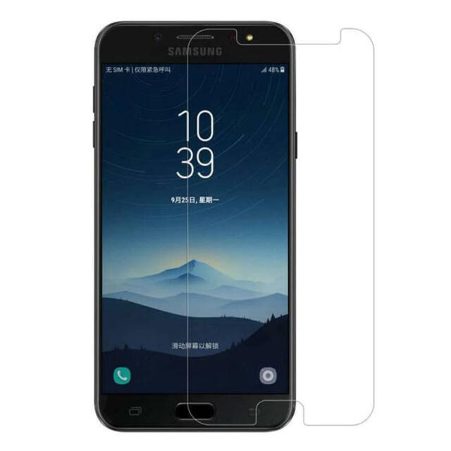 محافظ صفحه نمایش شیشهای 414 گوشی موبایل سامسونگ J7 پلاس