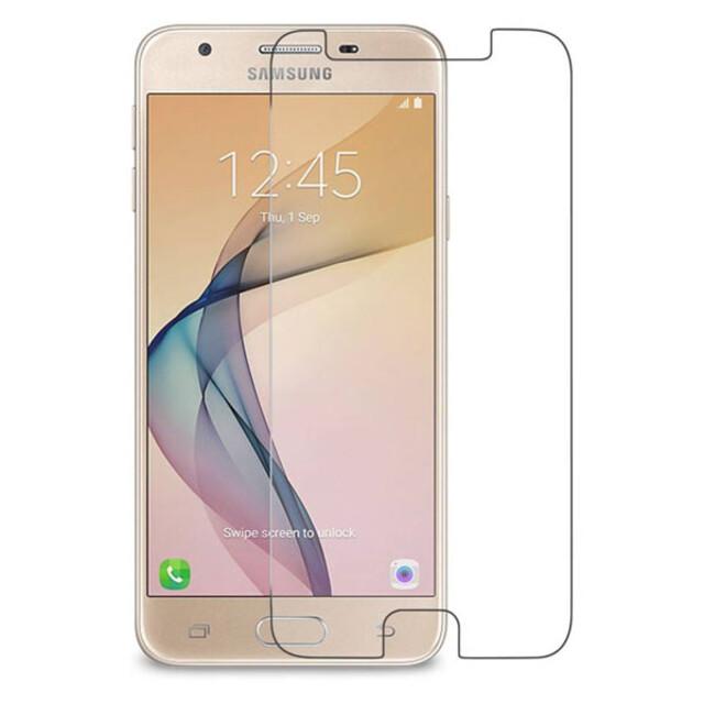 محافظ صفحه نمایش شیشهای 414 گوشی موبایل سامسونگ J5 Prime