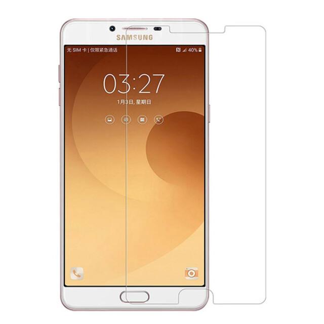 محافظ صفحه نمایش شیشهای 414 گوشی موبایل سامسونگ C9 Pro