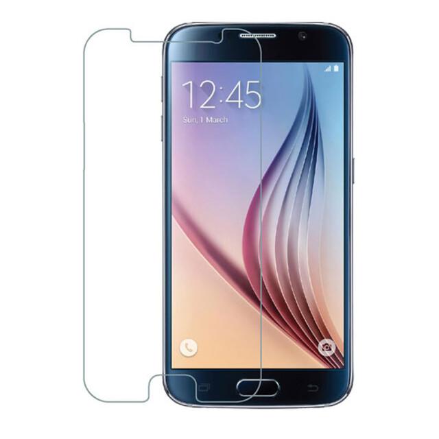 محافظ صفحه نمایش شیشهای 414 گوشی موبایل سامسونگ S6