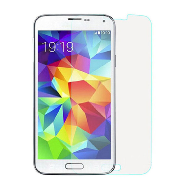 محافظ صفحه نمایش شیشهای 414 گوشی موبایل سامسونگ S5