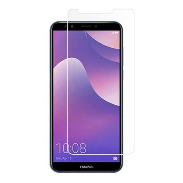 محافظ صفحه نمایش شیشهای 414 گوشی موبایل هوآوی Y7 2018