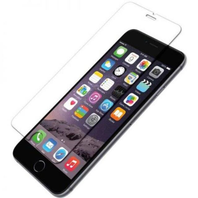 محافظ صفحه نمایش شیشهای 414 گوشی موبایل آیفون 6/6s