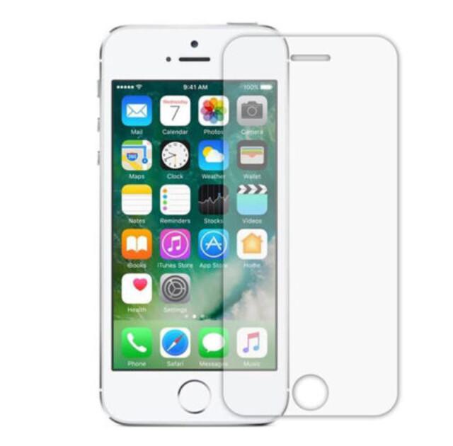 محافظ صفحه نمایش شیشهای 414 گوشی موبایل آیفون ۵/۵S/SE