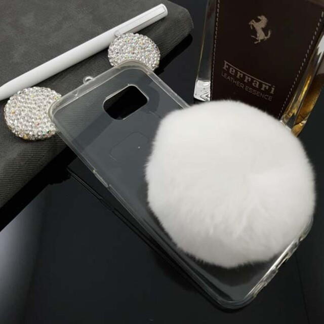 قاب میکی مدل خزهدار مناسب برای گوشی موبایل سامسونگ S6 Edge