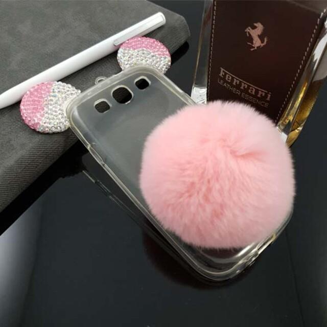 قاب میکی مدل خزهدار مناسب برای گوشی موبایل سامسونگ S3