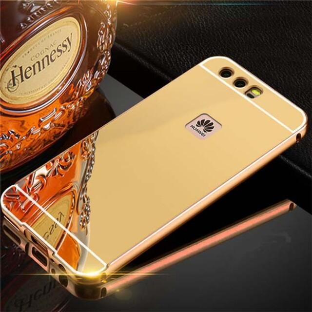 قاب آینهای دور فلزی موبایل هواوی P10