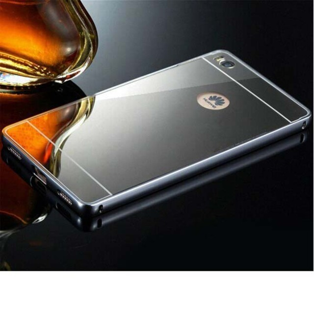 قاب آینهای دور فلزی موبایل هواوی P8