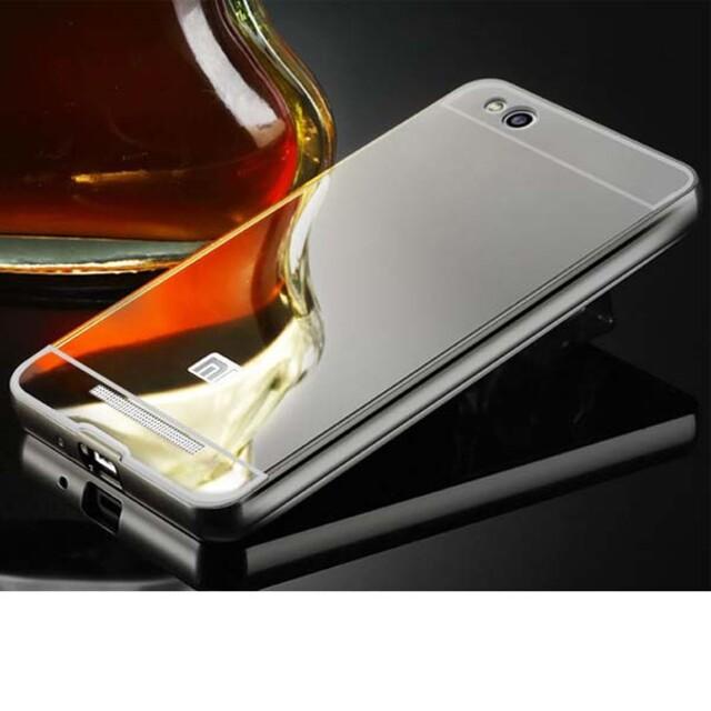 قاب آینهای دور فلزی موبایل شیاومی Redmi 4X