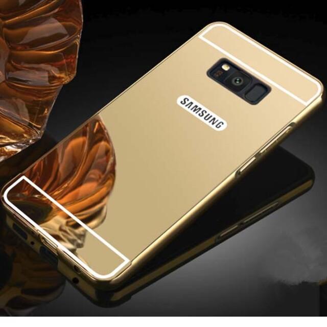 قاب آینهای دور فلزی موبایل سامسونگ Galaxy S8 Plus