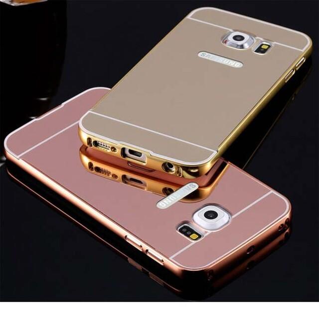 قاب آینهای دور فلزی مناسب برای گوشی سامسونگ Note 5