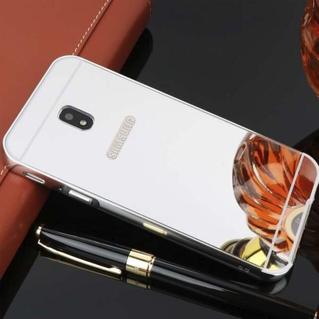قاب آینهای دور فلزی موبایل سامسونگ J3 Pro