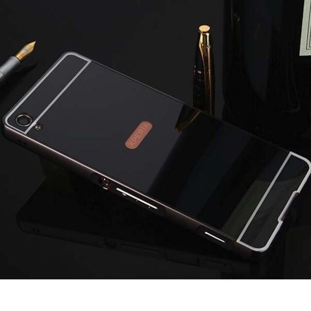 قاب آینهای دور فلزی موبایل سونی XA Ultra