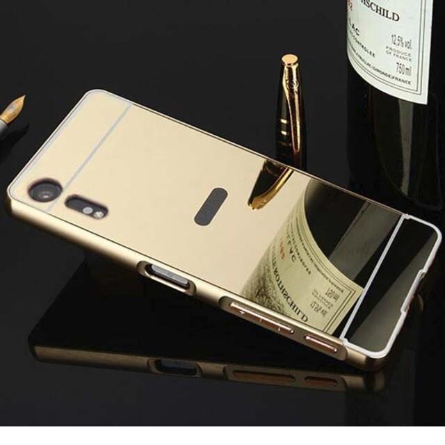 قاب آینهای دور فلزی موبایل سونی XZ