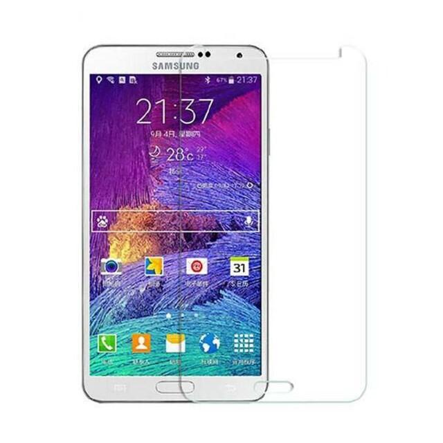 محافظ صفحه نمایش شیشه ای مناسب برای گوشی موبایل سامسونگ گلکسی Note 4