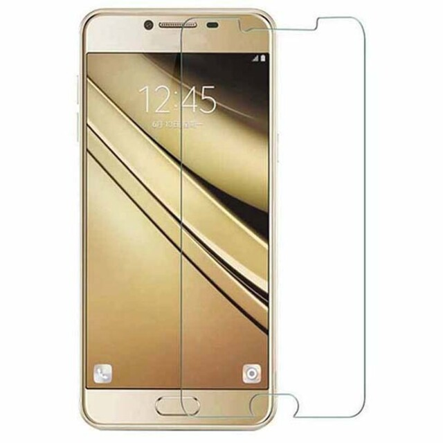 محافظ صفحه نمایش شیشه ای مناسب برای گوشی موبایل سامسونگ گلکسی C9