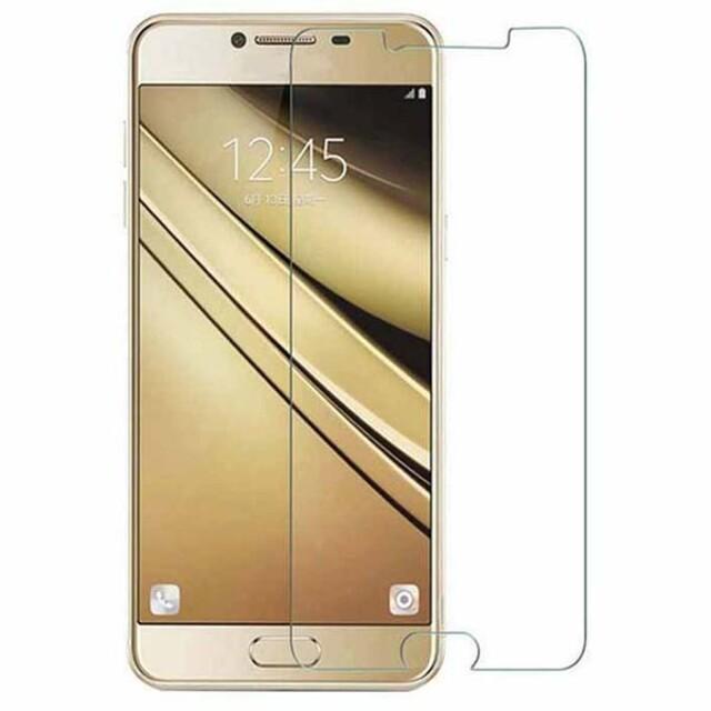 محافظ صفحه نمایش شیشه ای مناسب برای گوشی موبایل سامسونگ گلکسی C5