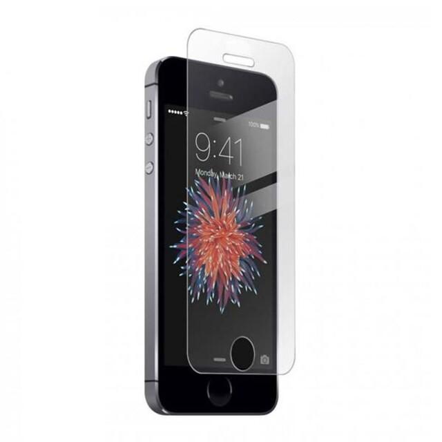 محافظ صفحه نمایش شیشه ای مناسب برای گوشی موبایل اپل آیفون 5/5S/SE