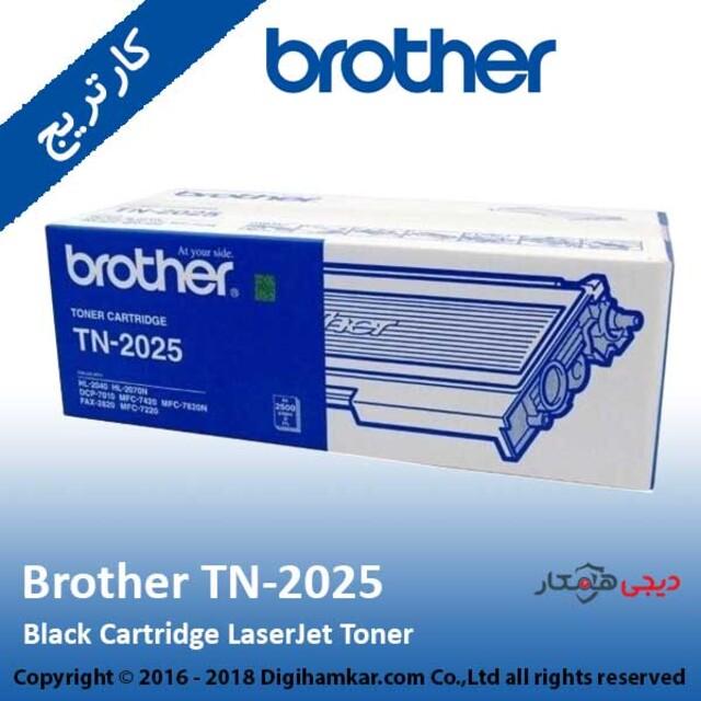 تونر کارتریج مشکی برادر مدل TN-2025