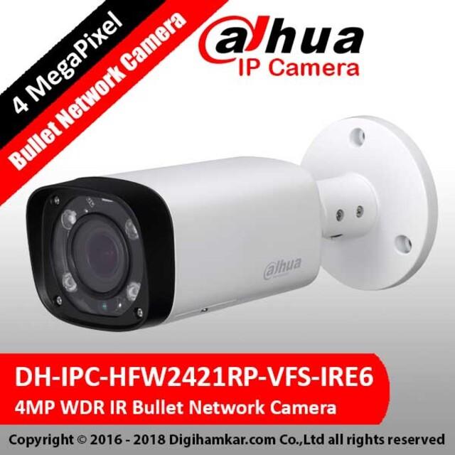 دوربين تحت شبکه بولت وری فوکال داهوا مدل DH-IPC-HFW2421RP-VFS-IRE6
