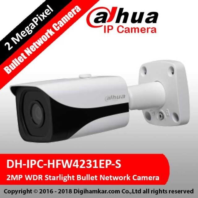 دوربين تحت شبکه بولت داهوا مدل DH-IPC-HFW4231EP-S
