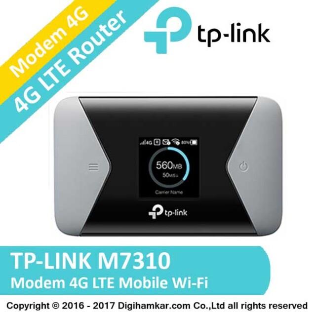 مودم همراه بی سيم 4G LTE تی پی-لينک مدل M7310