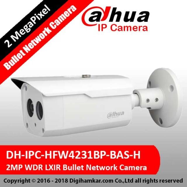 دوربين تحت شبکه بولت داهوا مدل DH-IPC-HFW4231BP-BAS-H