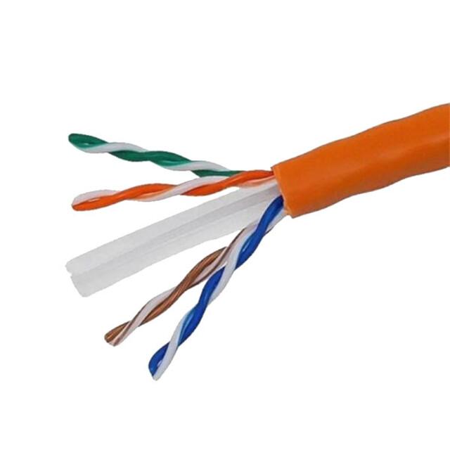 کابل شبکه Cat6 هایک ویژن مدل DS-1LN6-UU سایز 23AWG متراژ دلخواه