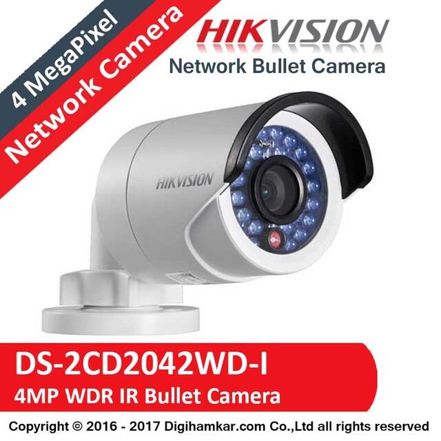 دوربین مداربسته تحت شبکه بولت هایک ویژن مدل DS-2CD2042WD-I